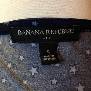 Banana Republic Factory Dresses - Banana Republic Factory Star Print Wrap Dress